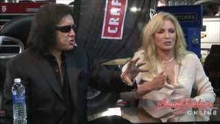 Gene Simmons of Kiss & Shannon Tweed of Family Jewel