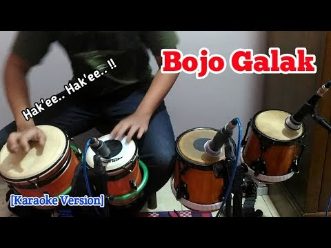 Bojo Galak _cover Kendang by Irawan