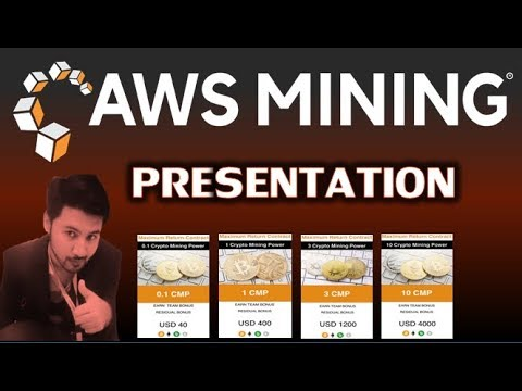 AWS Mining Full Presentation Urdu/Hindi || How To Create AWS Mining Account And Buy Mining Plan
