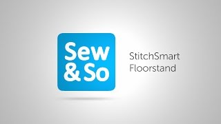StitchSmart Floorstand... for Cross Stitch and Embroidery