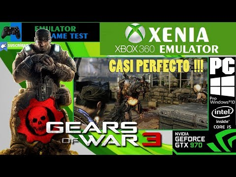 Gears of War 3 XENIA-CUSTOM 1 11b DirectX12 Casi 100