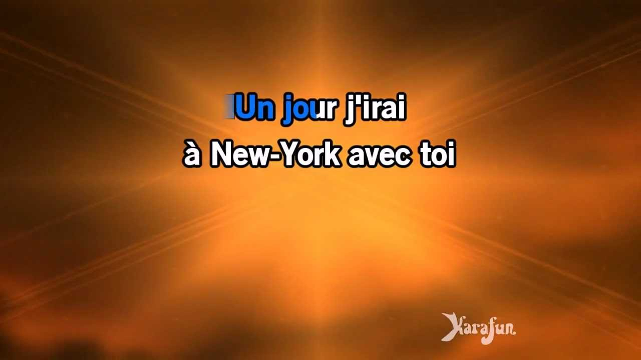 Karaok new york avec toi t l phone youtube - New york avec toi ...