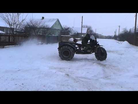 видео: Рубельский Вездеход , Снегоход , Своими руками , самоделка !