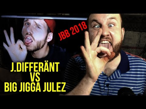 JBB 2018 | J.DIFFERÄNT vs. BIG JIGGA JULEZ | 16tel-Finale I ONE-TAKE ANALYSE