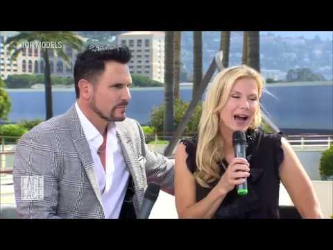 Katherine Kellly Lang Et Don Diamont Serie Top Models Face A Face Rtl Depuis Monaco 2017 Youtube