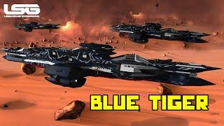 Space Engineers - Blue Tiger Battle Cruiser