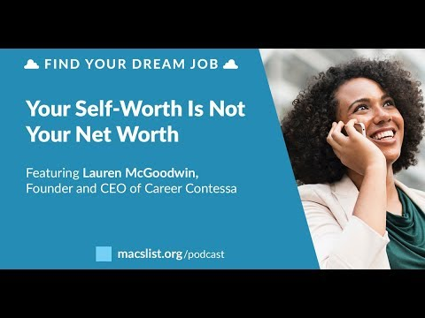 your self worth is not your net worth with lauren mcgoodwin