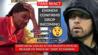 Old Wounds Between Eminem & Snoop Dogg Reopened? Eminem Keeps Fans Guessing With NFT Tease