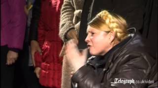 Yulia Tymoshenko hails Maidan victims as