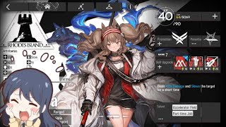 [Arknights] C.C Abandoned High-rise (8th day?) Highest Risk 12 Clear: Ange is soo gudd