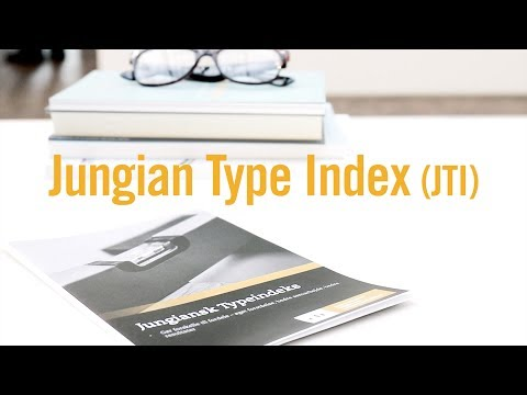 JTI - Jungian Type Index - Leadership tools - YouTube