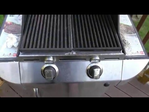Charbroil gas grill rust problem