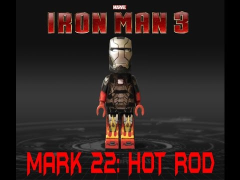 [LEGO] Mark 22 :HOT ROD / IRON MAN 3 - YouTube
