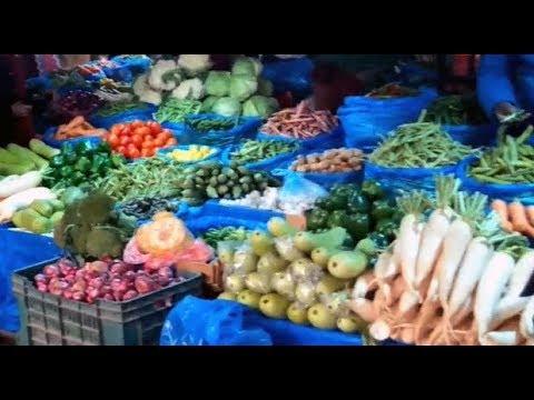 Kalimati Kathmandu wholesale vegetable market in Nepal