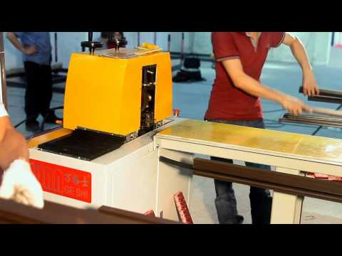 Three Steps For Thermal Break Assembly Machine