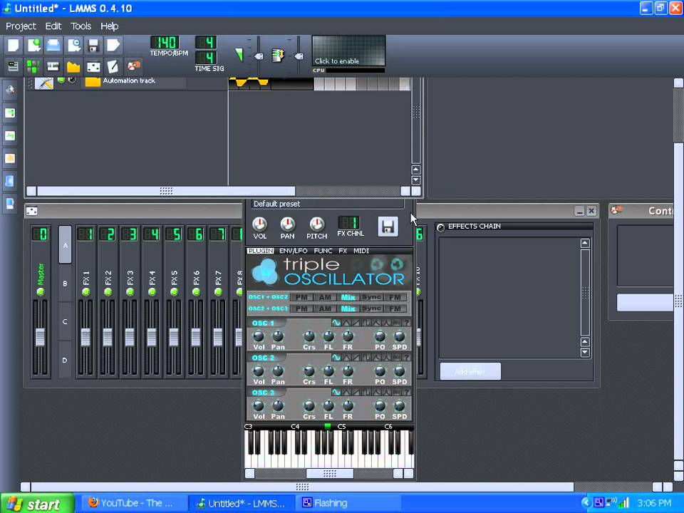 Lmms automation track