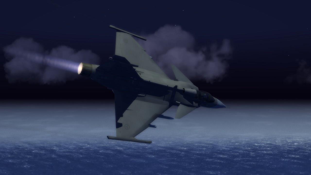 TSF 2 Gripen 4K Test - Midvintermörker - TSF 2 Gripen 4K Test - Midvintermörker