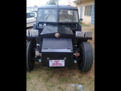 Genius! Engineer manufactures made in Nigeria car with local