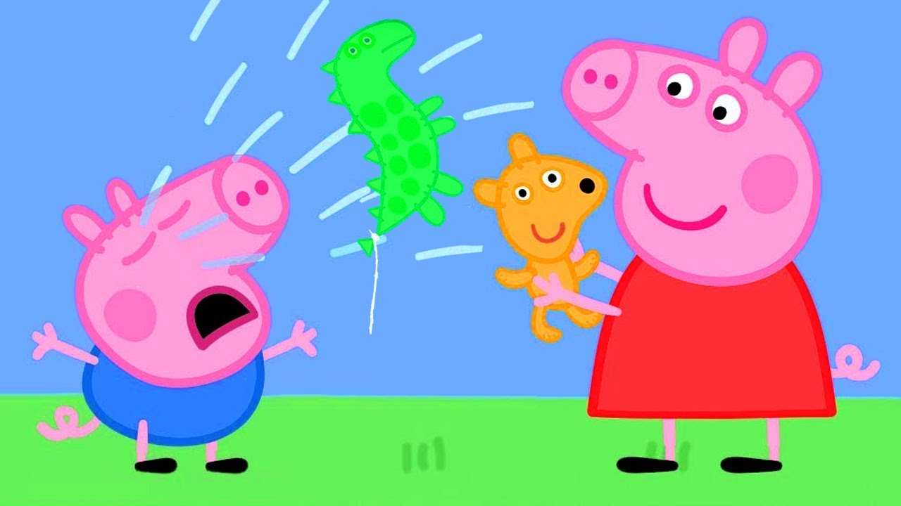 Peppa Pig Official Channel | Peppa Pig Saves George's New Balloon