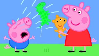 Peppa Pig English Episodes | George's New Balloon   Peppa Pig Official