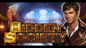 ** NEW GAME ** ** FIRST LOOK (020219) ** SLOT BONUS | Hidden Society, Novomatic Games