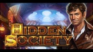 ** NEW GAME ** ** FIRST LOOK (020219) ** SLOT BONUS | Hidden Society, Novomatic Games