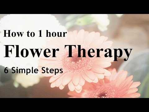 FREE simple Flower therapy 1 hour relaxing images,healing, refreshing and calming music