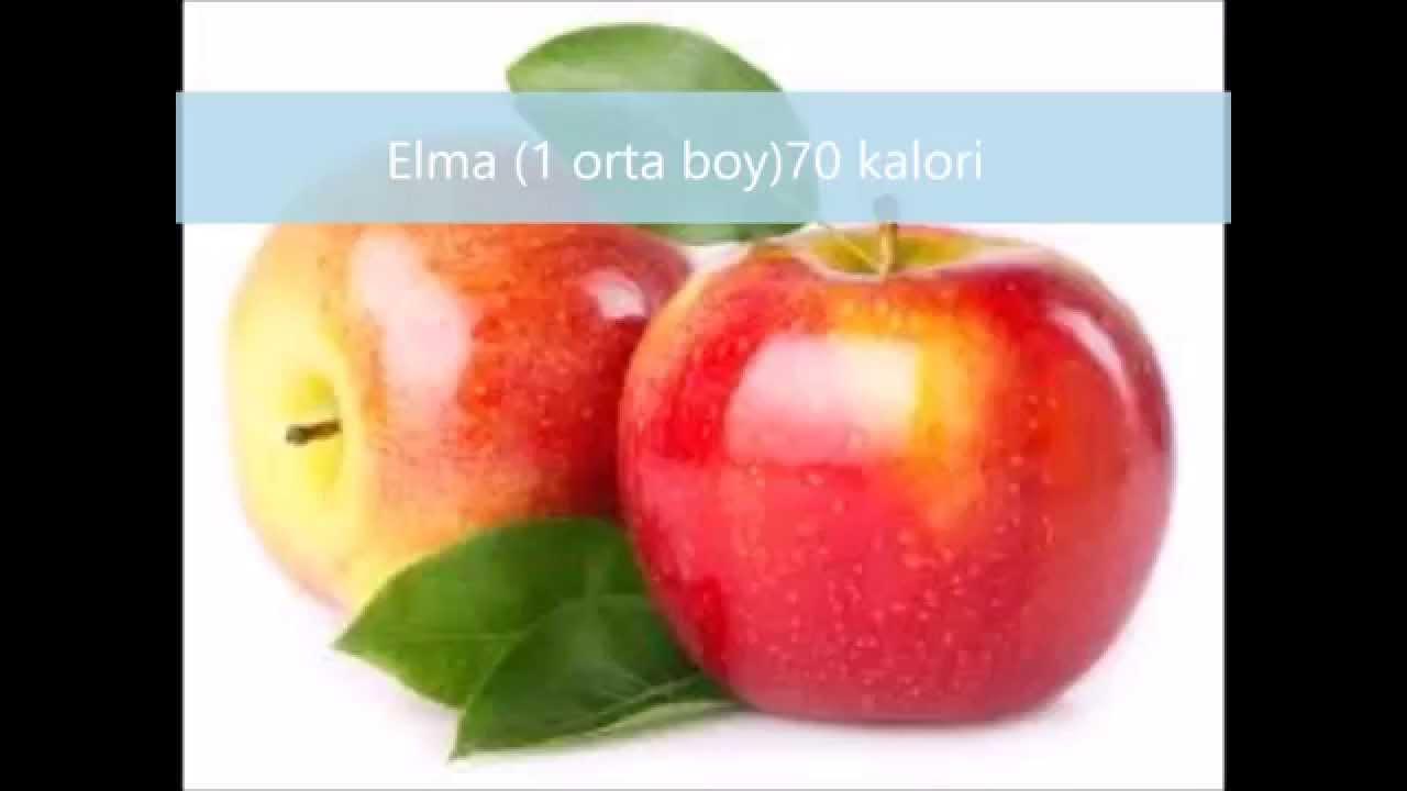 1 Kilo Meyve Kaç Kaloridir