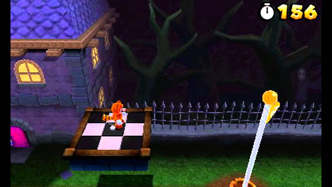 Super Mario 3D Land: Secret of The Ghost House [World 4-4]