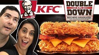 KFC Double down - O sanduíche que é só recheio