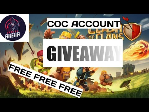 Clash Of Clans Account Giveaway|Gamers Arena