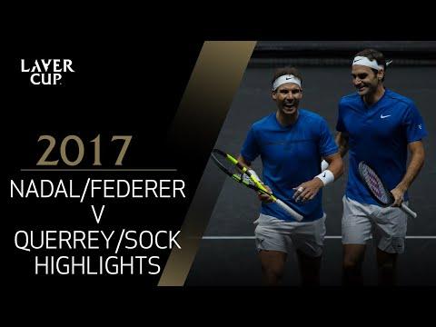 Federer/Nadal v Querrey/Sock highlights (Match 8) | Laver Cup
