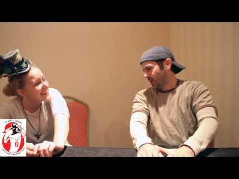 Lesley Scott s Brad Swaile at Youmacon
