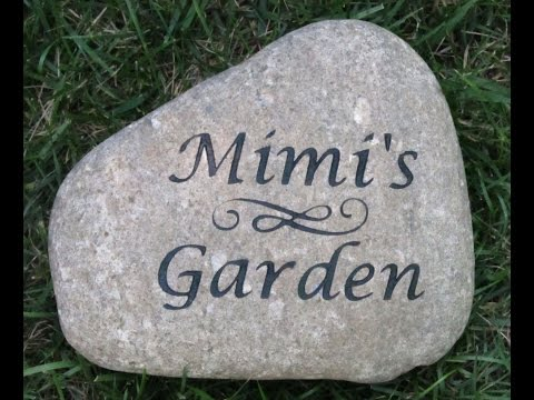 Personalized Garden Signs 2015