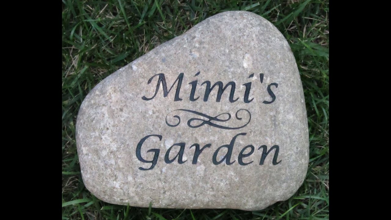 Personalized Garden Signs 2015 YouTube