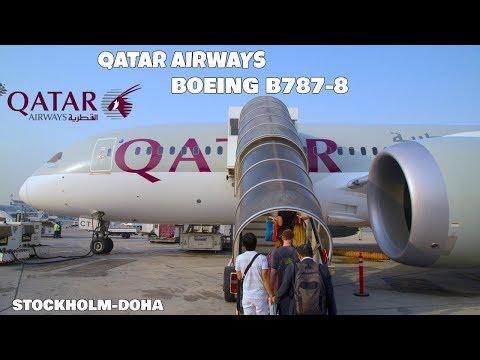 TRIP REPORT | QATAR (BOEING B787) STOCKHOLM - DOHA | Economy class