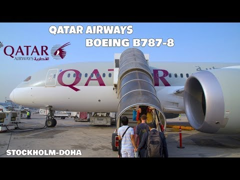 TRIP REPORT   Qatar Airways - 787-8 - Stockholm (ARN) to Doha (HIA)   Economy