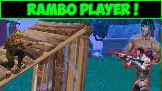 El jugador que se cree RAMBO - FORTNITE