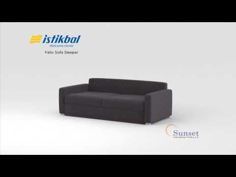 Felix Convertible Sofa Bed by Sunset International (Istikbal)