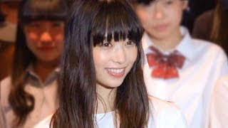 映画『恋と嘘』のイベントが行われ、主演の森川葵が女子高生限定試写会...