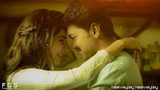 Neeveyley Neeveyley Full song in Telugu Mersal Movie song Vijay Telugu song