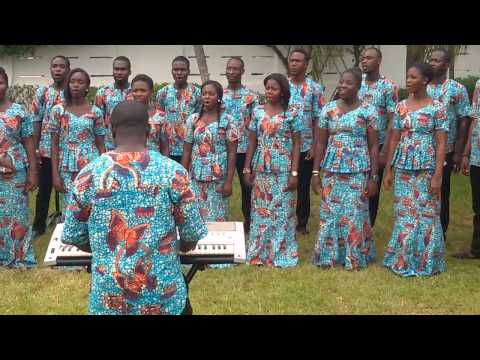 Captain of Israel's Host, M H B  608 preformed by Young Chorale, Ghana