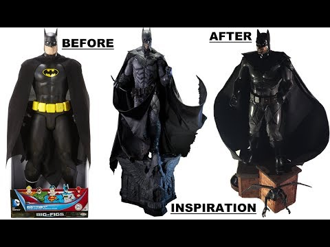 "19 "" CUSTOM BATMAN NOEL FIGURE"