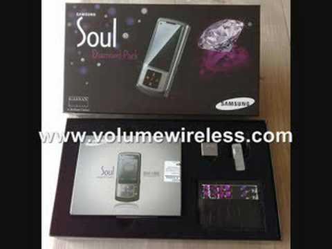 Samsung U900 Soul Silver/Black
