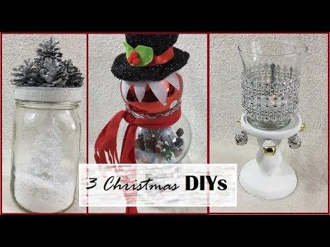 3 Christmas DIYs | Last Minute | Dollar Store