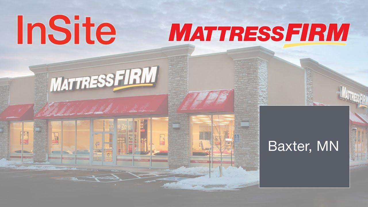 mattress firm building. InSite Real Estate   Mattress Firm Retail Build-to-Suit - Baxter, MN Building R
