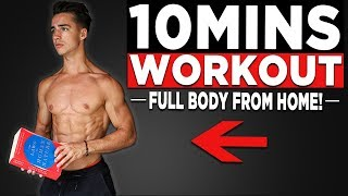 10 MIN BODYWEIGHT WORKOUT (FULL BODY HOME WORKOUT!)