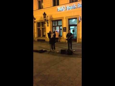 Varius Manx- Piosenka księżycowa (street cover) Wrocław 2015