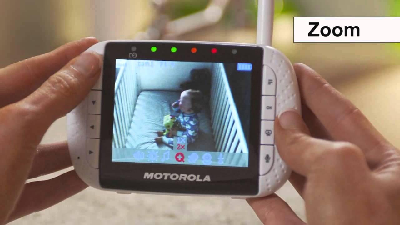 motorola 2 8 video baby monitor. motorola mbp36-2 twin camera video baby monitor - how to use | babysecurity youtube 2 8