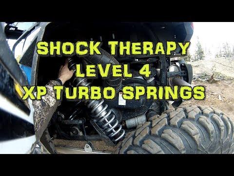 Shock Therapy Level 4 Spring Kit on 2018 polaris RZR XP TURBO